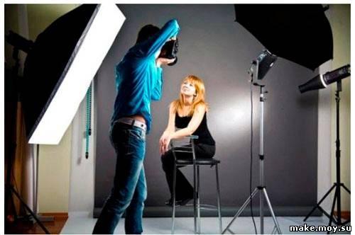 как снимать в фотостудии