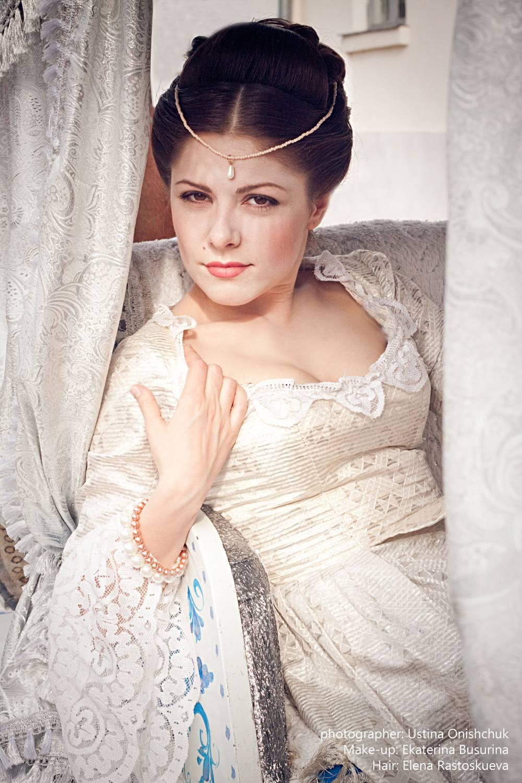 Прически дам 19 века фото